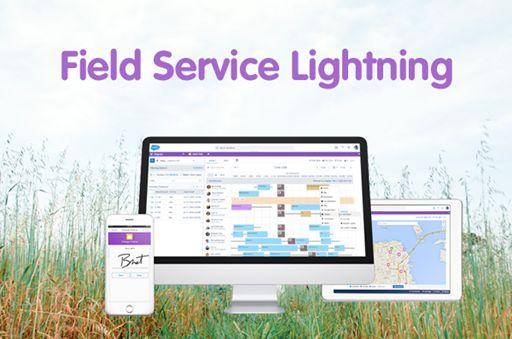 Salesforce Field Service Management : Salesforce memo field service lightning