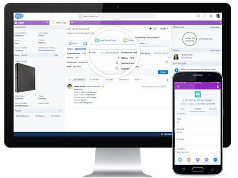 Salesforce Memo | Field Service Lightning